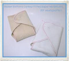 Rocket Bottoms Contour Diaper