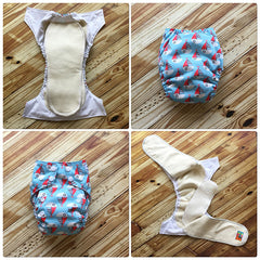 Rocket Bottoms Quick Dry All in One- Newborn/Small