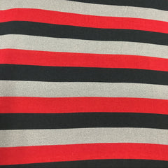 Forest Bandit Stripe on Bamboo/Spandex Jersey
