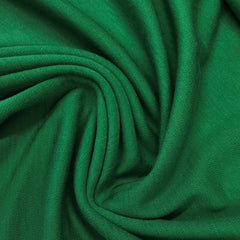 Green 100% Merino Wool Washable Interlock