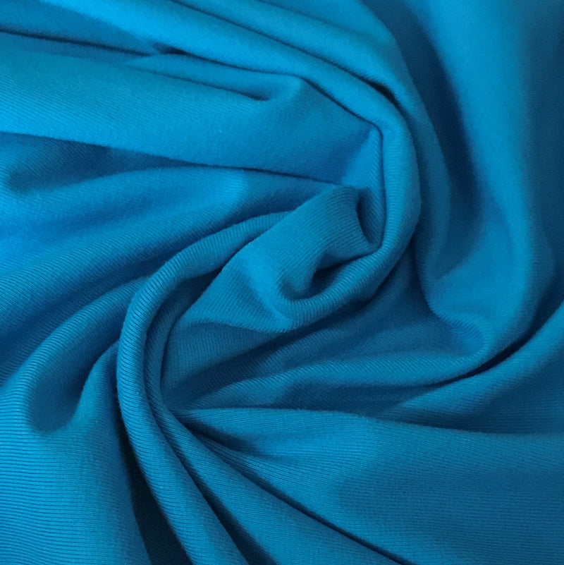 Hot Blue Cotton/Spandex Jersey - 240 GSM