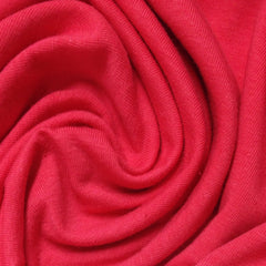 Hot Coral Cotton/Spandex Jersey