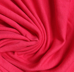 Hot Pink Cotton/Spandex Jersey