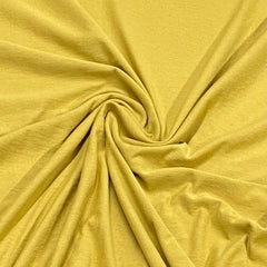 Honey Organic Cotton Jersey - 200 GSM- Grown in the USA