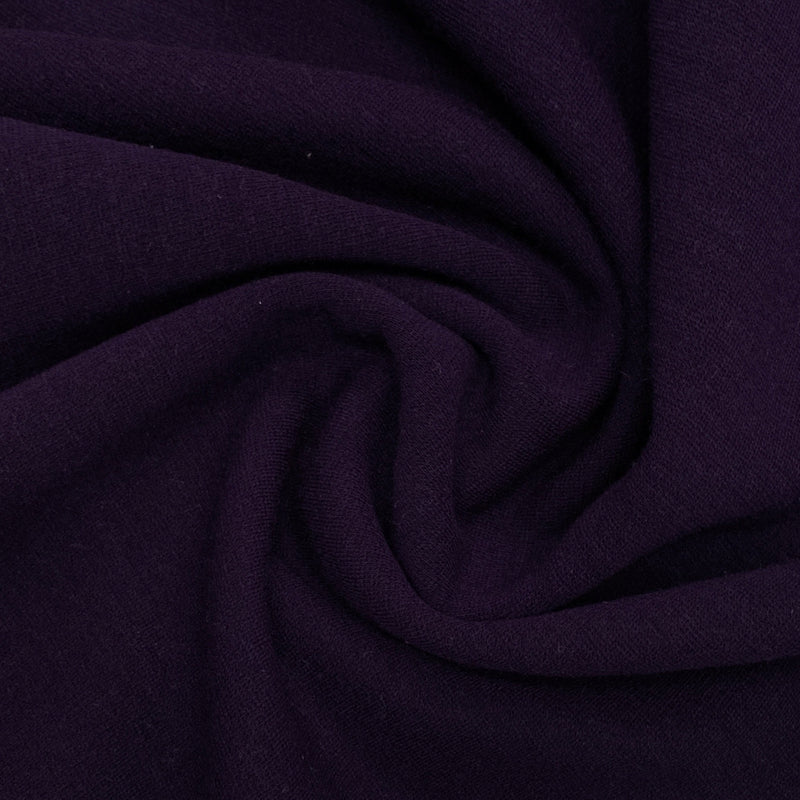 Grape Merino Wool Blend Ponte Di Roma