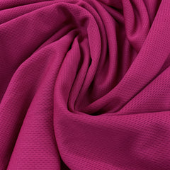 Fuchsia Polyester Athletic Wicking Jersey