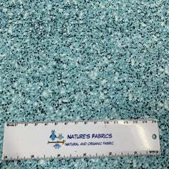 Turquoise Glitter 1 mil PUL - Made in the USA