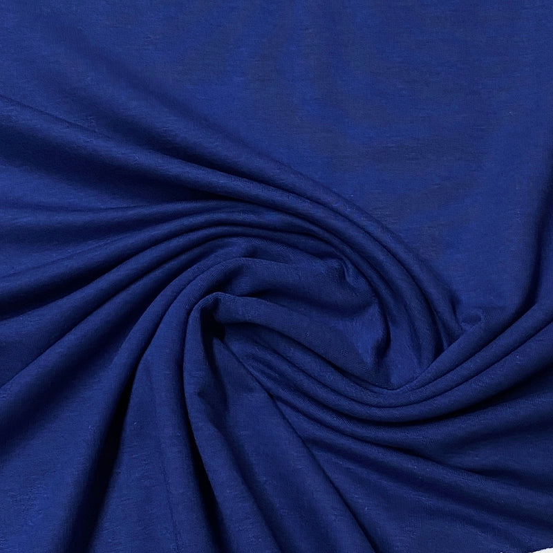 Twilight Blue Bamboo Stretch Fleece