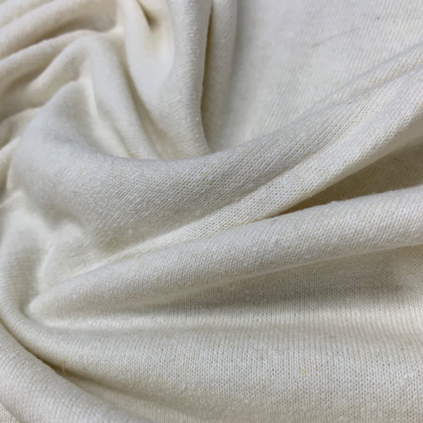 Natural Hemp Cotton Jersey - 240 GSM, $7.82/yd - Rolls