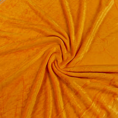 Orange Bamboo Velour, $8.90/yd -Rolls