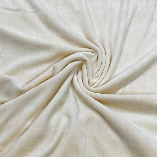Organic Cotton Velour-Made in the USA