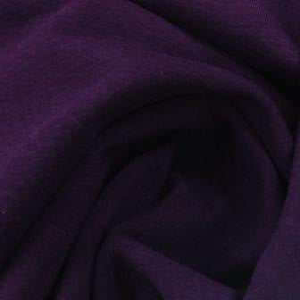 Plum Bamboo Stretch Fleece
