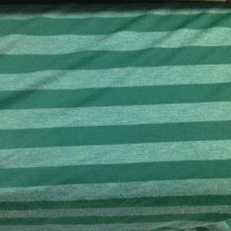 Green on Green Cotton/Poly Jersey