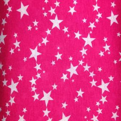 Pink Constellation Stars on Cotton/Poly Jersey