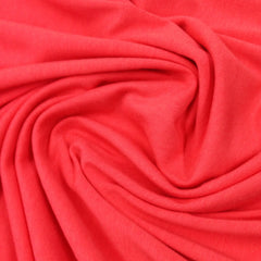Hot Coral Bamboo/Spandex Jersey