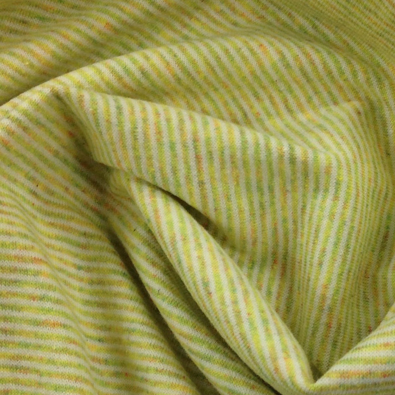 Lemon and Natural Eco Stripe
