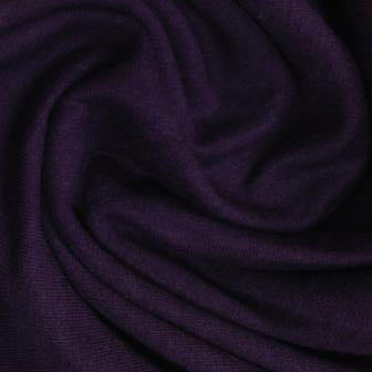 Plum Bamboo Stretch French Terry