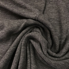 Dark Gray Heather Cotton Thermal