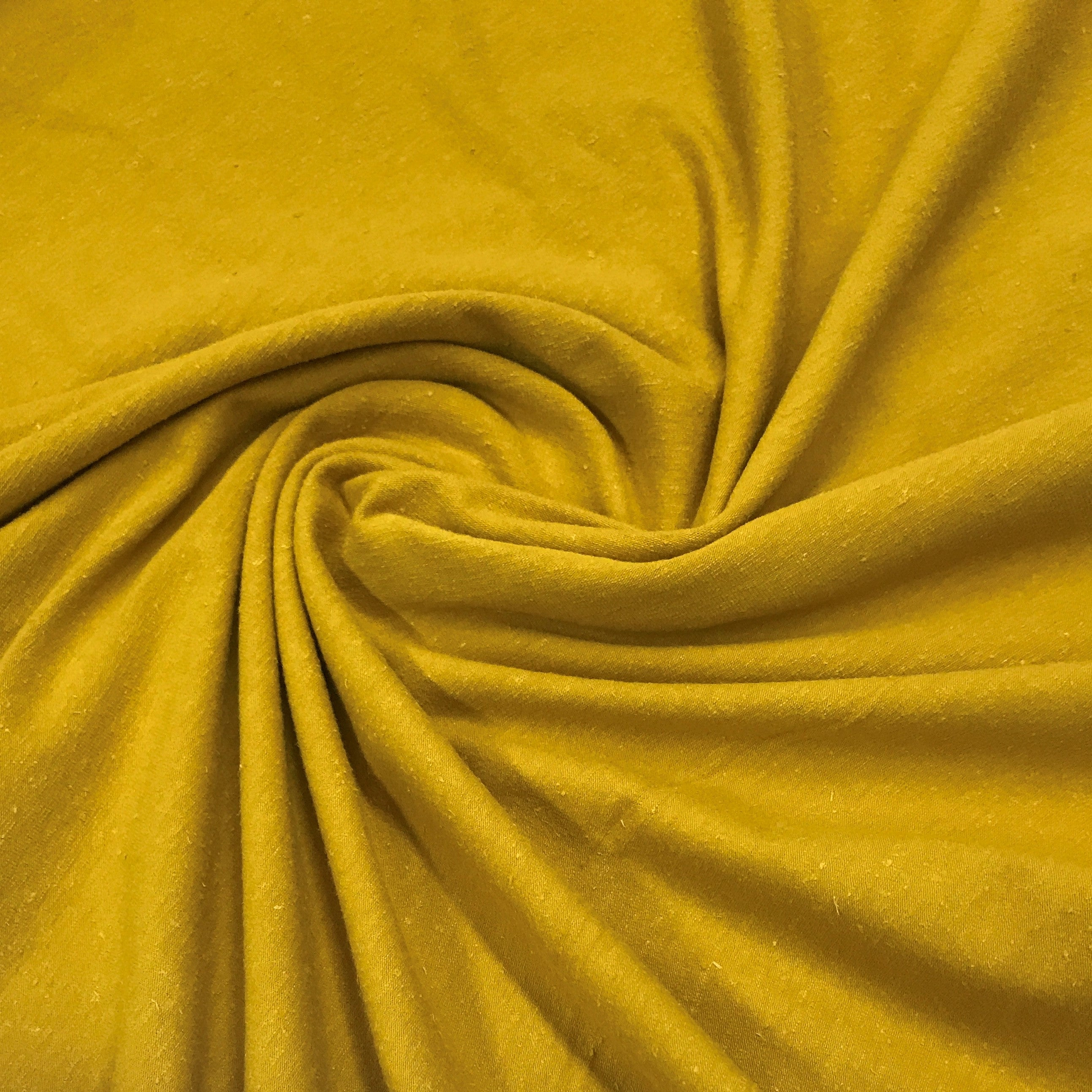 826ed18319b Nugget Gold Hemp Stretch Jersey | Nature's Fabrics