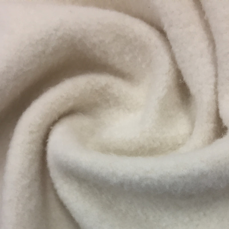 Natural Organic Cotton Fleece - 240 GSM Grown in the USA