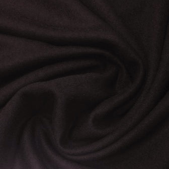 Dark Brown Wool Jersey