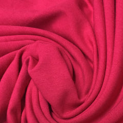 Jazzy Pink Bamboo Stretch Fleece