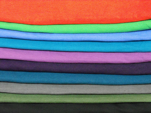 cotton/spandex jersey assortment