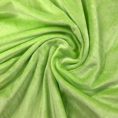 Light Green Bamboo Velour