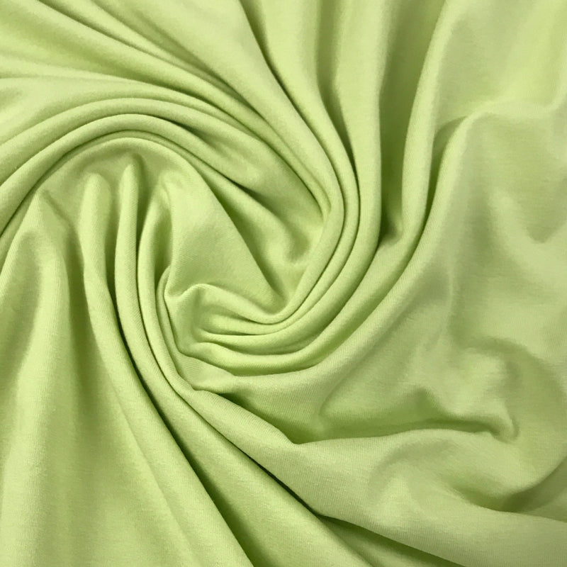 Light Green Rayon/Spandex Jersey