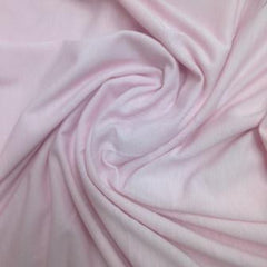 LIght Pink Bamboo Stretch French Terry