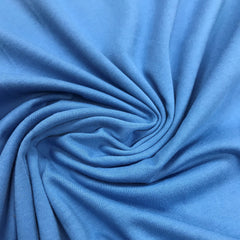 Medium Blue Organic Cotton Jersey