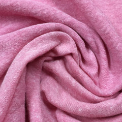 Medium Pink Slub Cotton Jersey