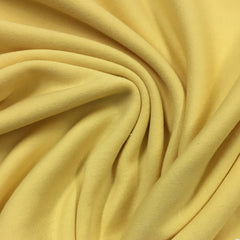 Medium Yellow Cotton Interlock