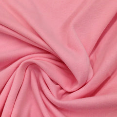 Medium Pink Organic Cotton Rib Knit