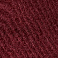 Burgundy 97% Organic Merino Wool and 3% Spandex Interlock- Feltable