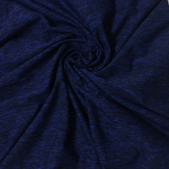 Midnight Blue Space Dye on Poly/Spandex Jersey