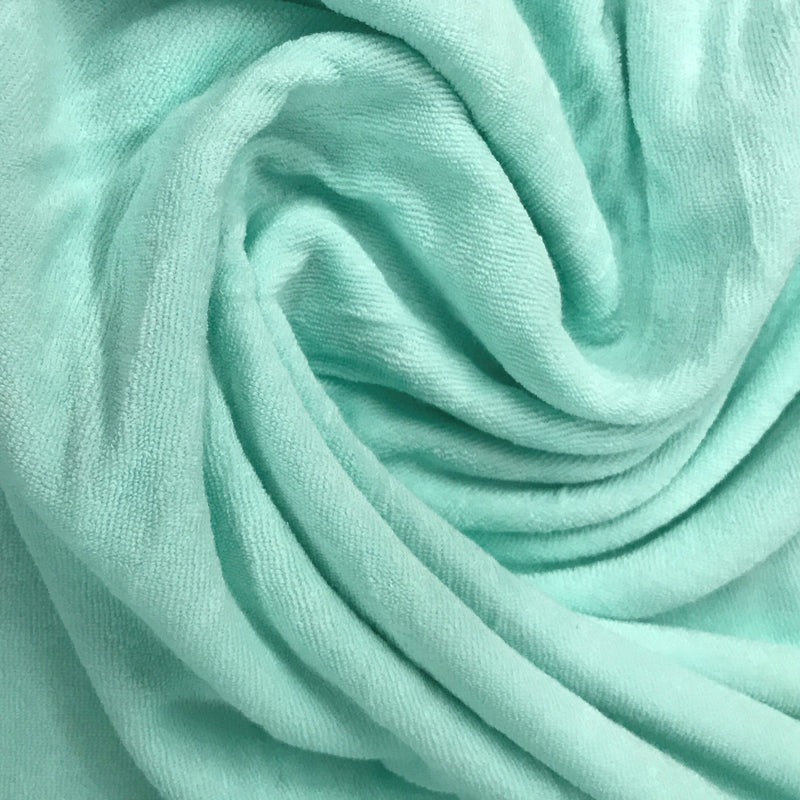 Mint Cotton Baby Loop Terry