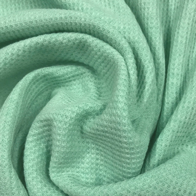 Mint Heather Cotton Thermal