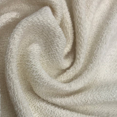 Natural Heavy Organic Cotton French Terry - Grown in the USA
