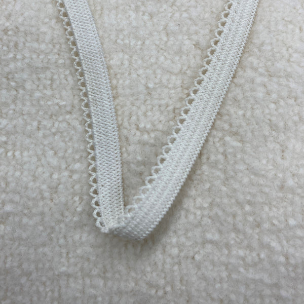 "1/4"" Mini-Picot Elastic-Natural"