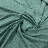 Green Heather Organic Cotton Jersey - Nature's Fabrics