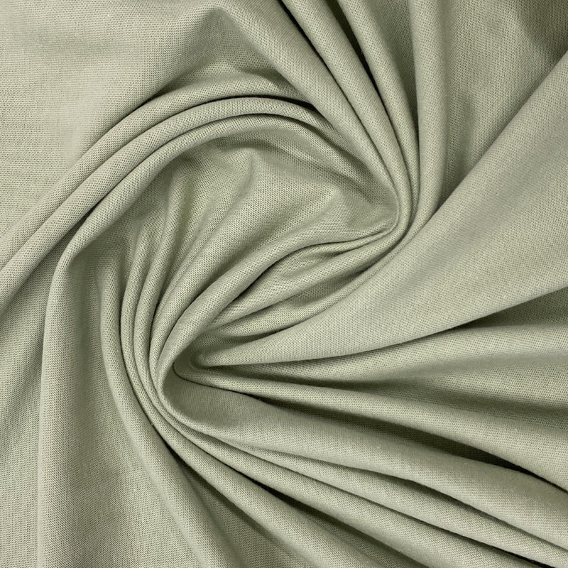 Sage Organic Cotton Jersey - Nature's Fabrics