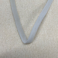 "1/2"" Off-White Polybraid Elastic"