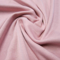 Pink Organic Cotton Rib Knit