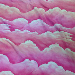 Pink Cloud Cotton Rib Knit