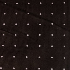 Pink Dots on Brown Corduroy - 16 Wale