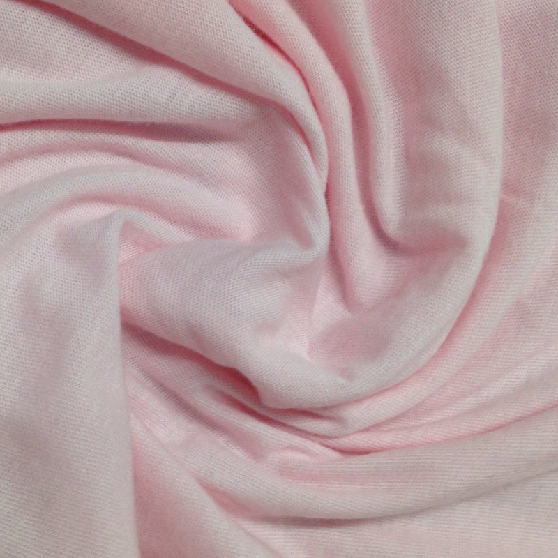 Pink Cotton/Poly Jersey