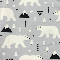 Polar Fun on Bamboo/Spandex Jersey
