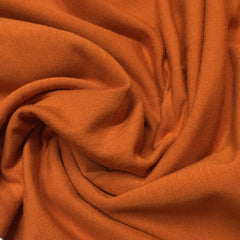 Pumpkin Spice Bamboo Stretch French Terry - 300 GSM, $8.70/yd -Rolls