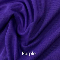 Polyester Athletic Wicking Jersey, $5.95/yd, 15 Yards - Your Choice of One Color - Nature's Fabrics